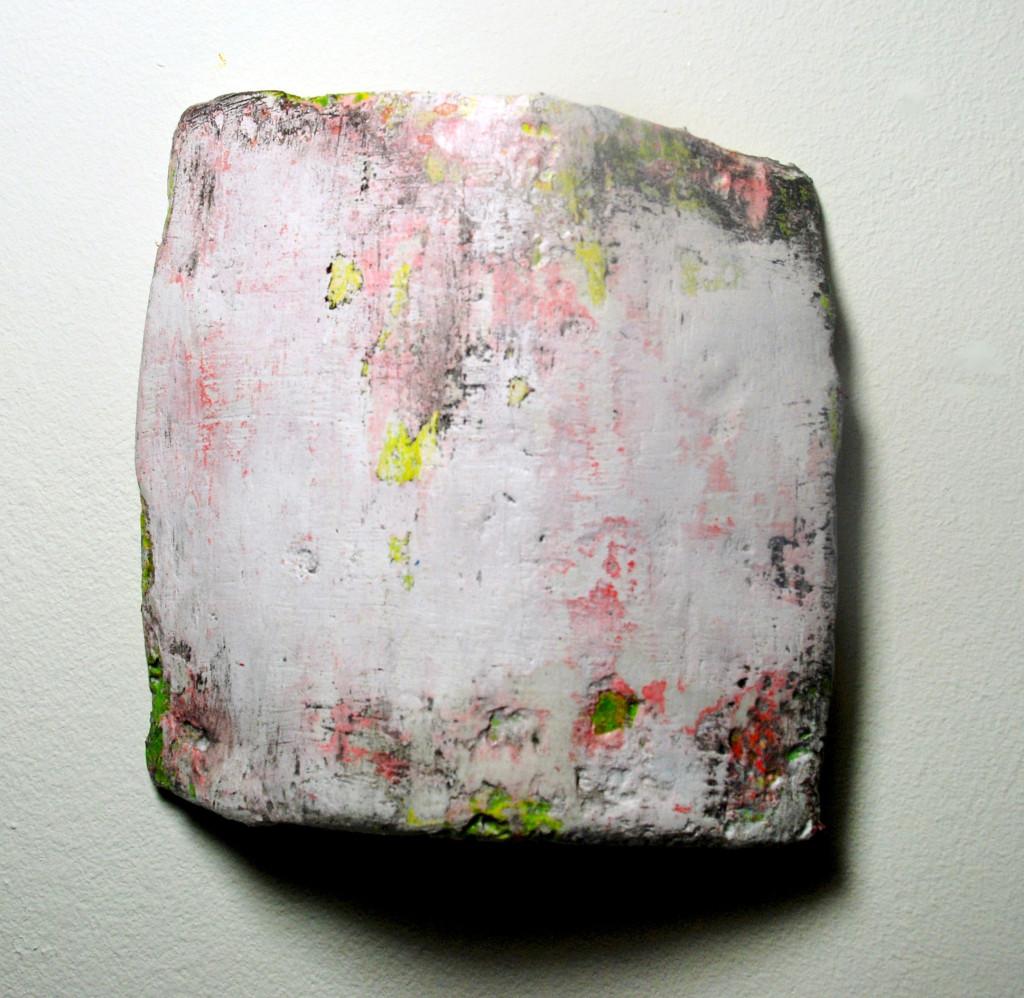 Bark, mixed media sculpture, 2015